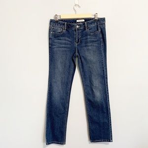 WHBM Slim Leg Denim Jean.